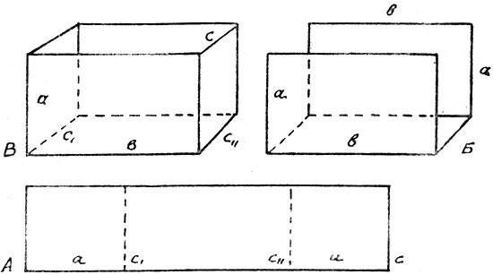 Схема склейки оргстеклянных
